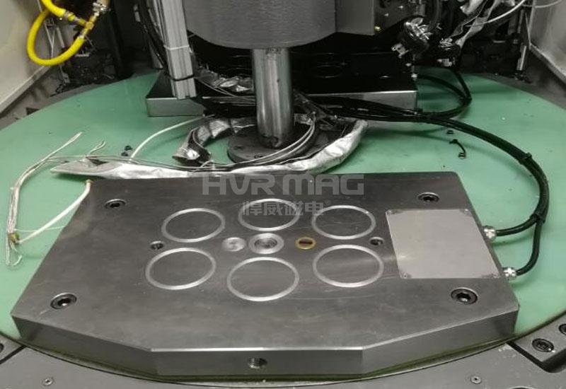 立式注塑机磁力模板