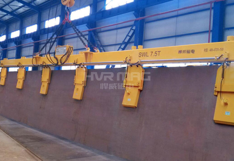 武汉博世钢板侧吊电永磁起重器