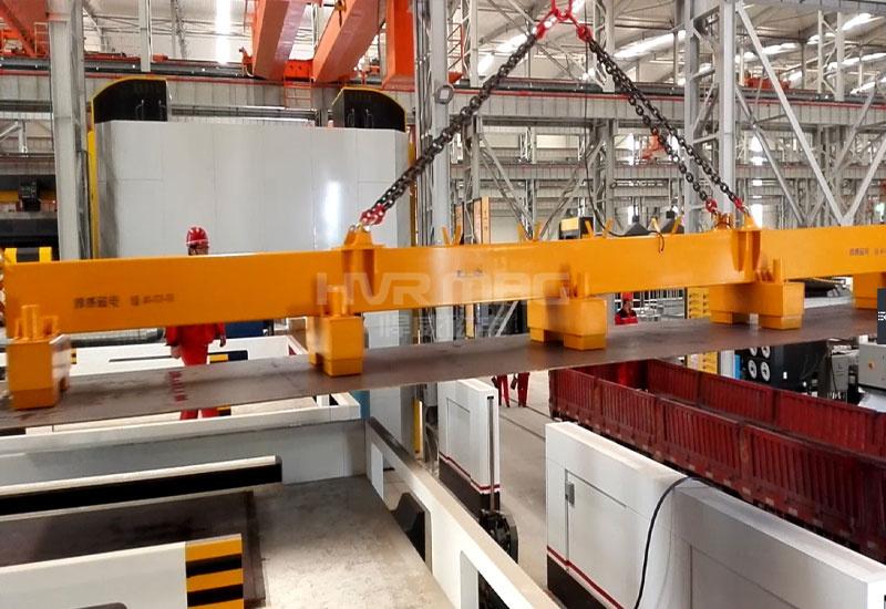 大型石油装备公司装备钢板磁力吊具分组控制