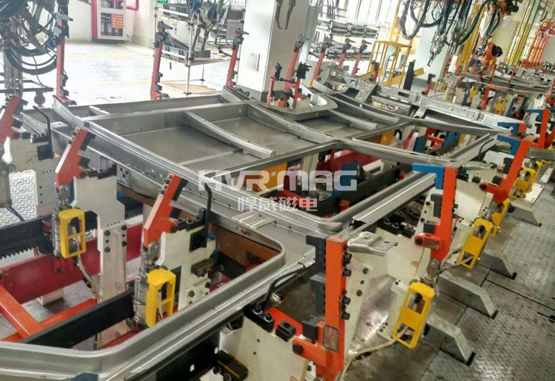 ABB汽车壁磁力焊接工装夹具案例