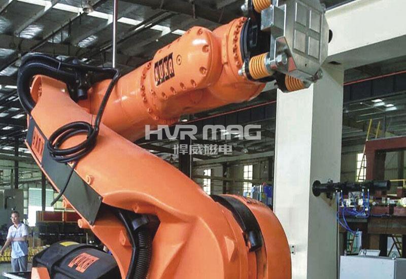 库卡机器人自动化搬运生产线