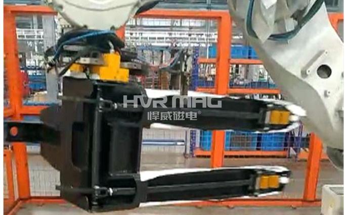 ABB机器人货叉磁力装卸