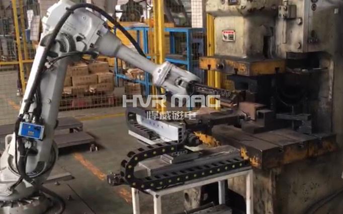 哈工大机器人集团_电永磁铁在自动化中的典型应用