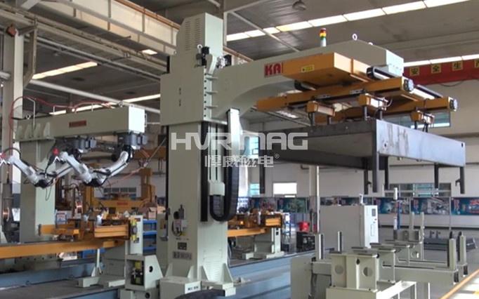 自动化焊接上料 选机械臂磁力夹具