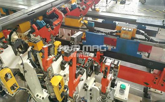 自动化焊接固定工装磁力夹具
