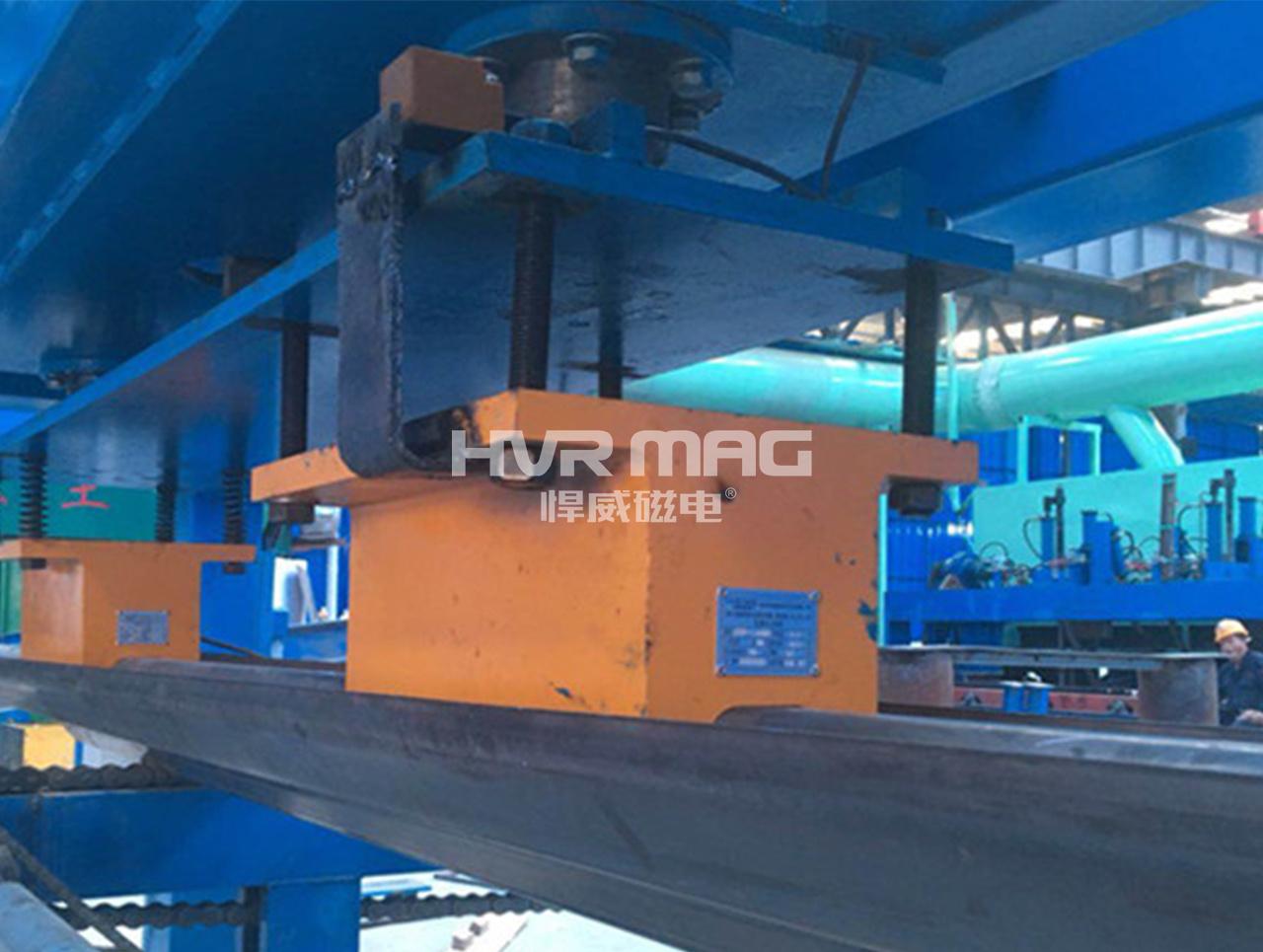 自动码垛机用电永磁铁高效搬运高速护栏