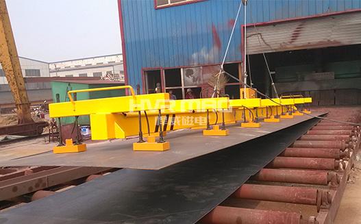 HM1_多台联吊中厚钢板吊具