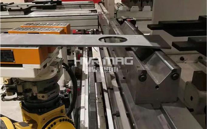 机器人磁力抓手自动上下料金板件