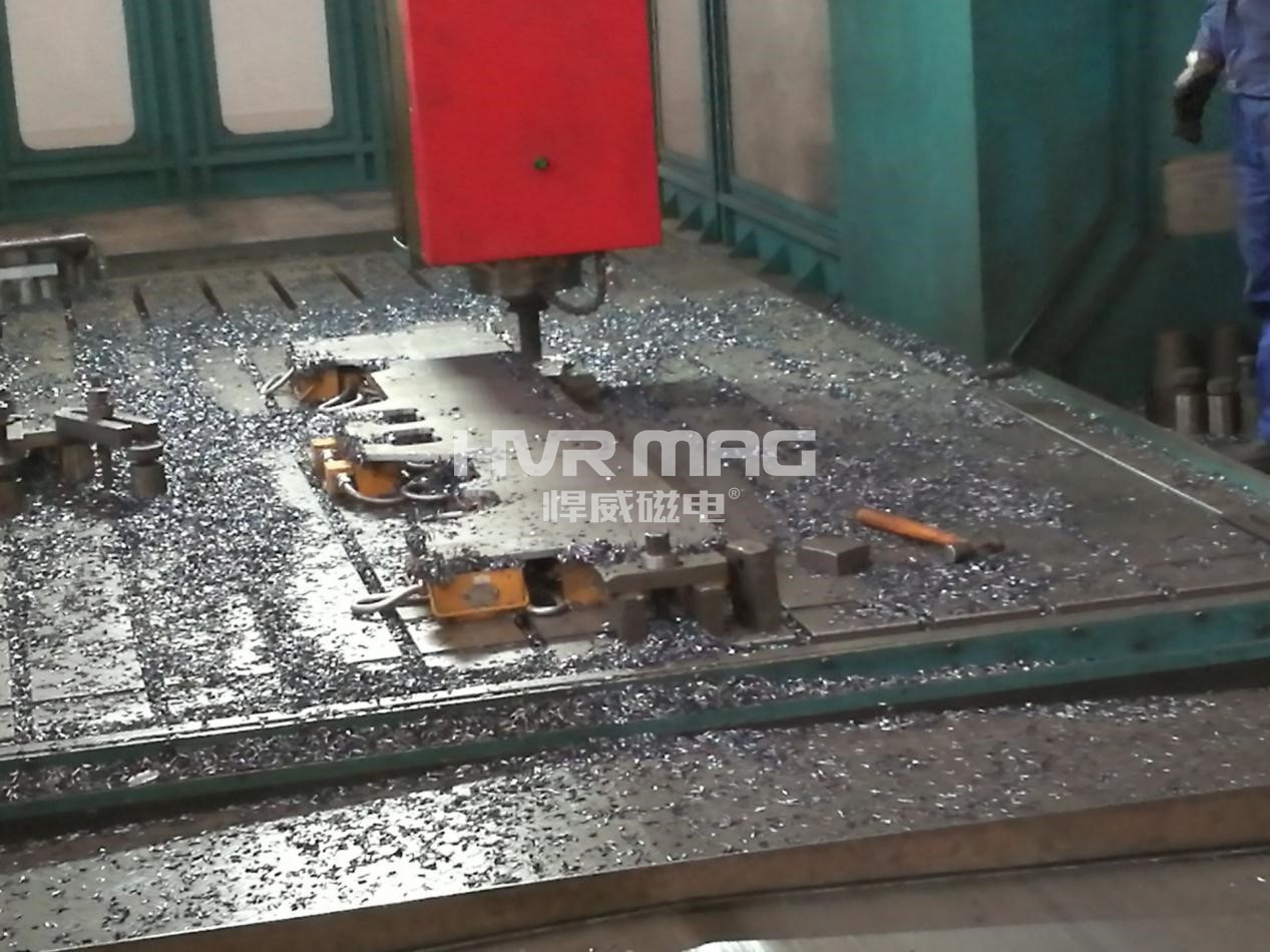 电控永磁力吸盘的内部结构与其在机床加工中的应用
