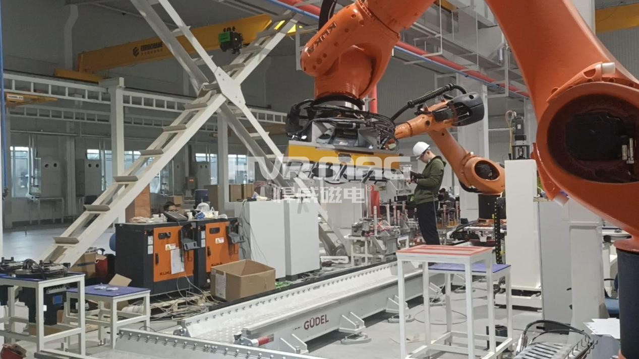 磁力机械手自动化翻转搬运200-300kg非标工件