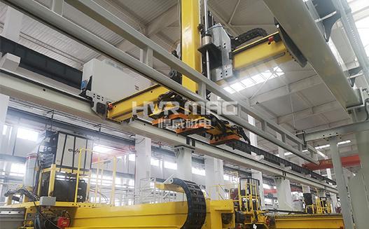 机械制造自动化,电永磁吸盘抓手搬运钢管