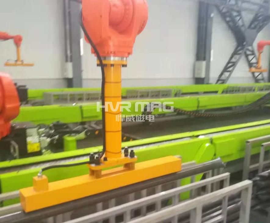 自动化生产,吸盘机械手搬运钢管的案例